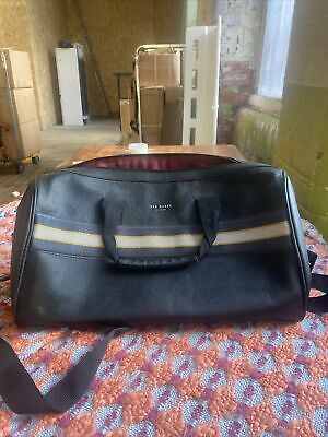 Ted Baker Mens Travel Bag, One Size, Lot M25 • 2.20£