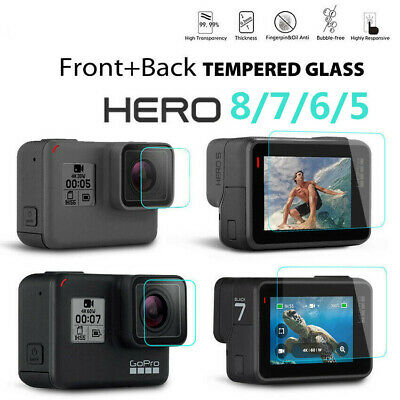 $ CDN1.85 • Buy Tempered Glass Screen Protector Camera Protector For GoPro Hero 8 7 Black 6 5~