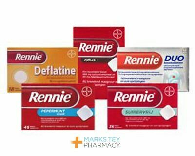 Rennie Range - Check Variations - Uk Pharmacy - • 6.95£