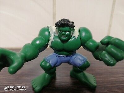 Marvel Super Hero Squad Incredible Hulk Action Figure Imaginext Size Hasbro 2011 • 4£