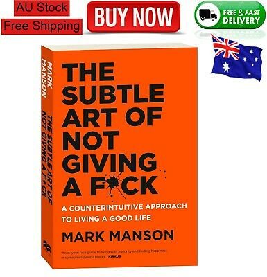 AU25.49 • Buy BRAND NEW The Subtle Art Of Not Giving A Fck F*ck F * Ck Fuck FAST FREE SHIPPING