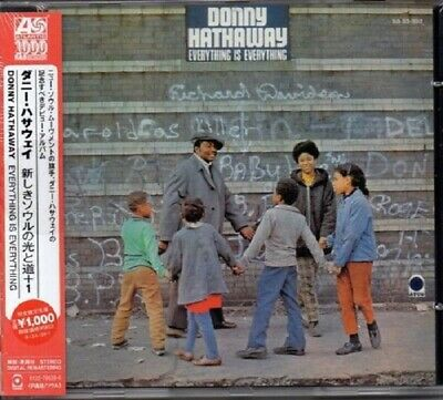 Donny Hathaway Everything Is Everything CD+Bonus Track NEW SEALED Soul Remaster • 4.99£