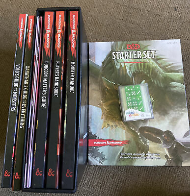 AU205 • Buy Dungeons And Dragons Starter Set And Books