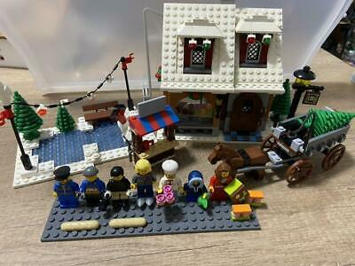 LEGO Creator Winter Village Bakery 10216 Used Retired • 245.78£
