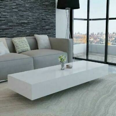 £181.68 • Buy White Modern Coffee Table High Gloss Living Room Contemporary Design Furniture