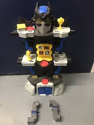 Imaginext DC Super Friends Transforming Batcave Play Set With Extra • 9.99£