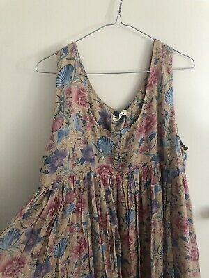 AU237 • Buy Spell And The Gypsy Seashell Baby Doll Midi Dress Size XL