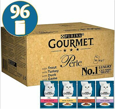 Gourmet Wet Cat Food Perle Country Medley 96 Pouches 96 X 85 G • 51.12£