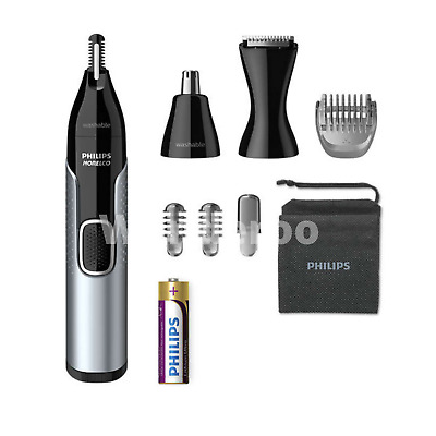 AU55.27 • Buy Philips Norelco Nose Trimmer 5000 Cordless Grooming Mens Ear Eyebrow Hair Shaver