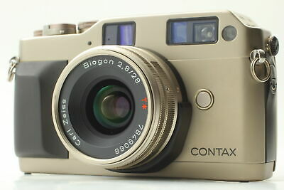$ CDN708.95 • Buy [Exc+5] Contax G1 Green Label Rangefinder Carl Zeiss Biogon 28mm F2.8 From JAPAN
