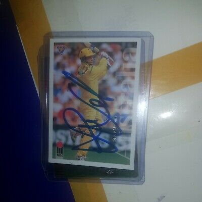 AU40 • Buy Steve Waugh Cricket Signed In Person Select Card  Buy Genuine