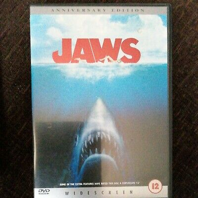Jaws (DVD, 2000) - Widescreen. The 25th Anniversary Edition • 3.99£