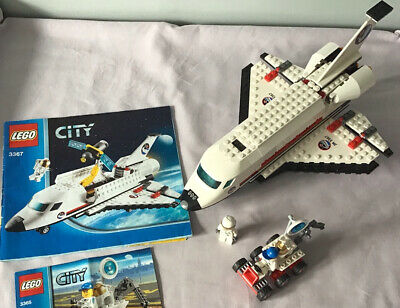 LEGO City 3367 Space Shuttle & 3365 ATV Buggy - Complete Sets With Instructions • 11.99£