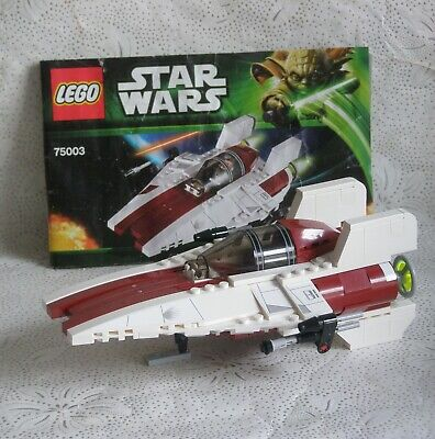 Genuine Lego Star Wars Set 75003 A Wing Star Fighter Ship Only No Figures • 16.99£