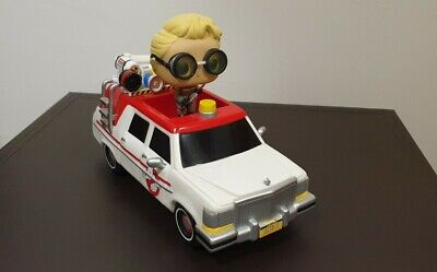 Funko Pop. Movies: Ghostbusters - Ecto-1 (with Jillian Holtzmann) #23 OOB No Box • 19.99£