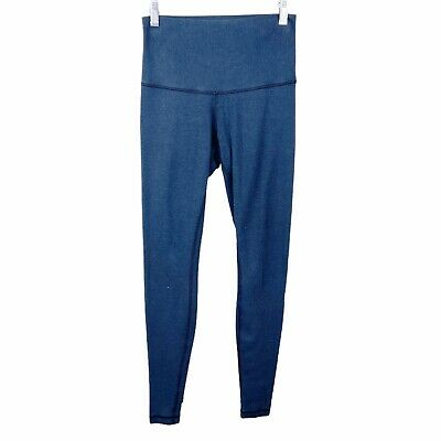 $ CDN8.87 • Buy Lululemon Women High Times Full Length Leggings *FLAWED* Blue High Waist Size 4