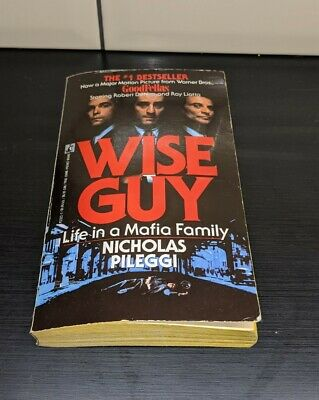 WISE GUY: Life In A Mafia Family - Paperback Book By Nicholas Pileggi  • 10£