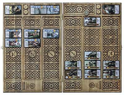 $ CDN458.32 • Buy Wooden Board For Witcher Gwent Card Game 2 Foldable Parts