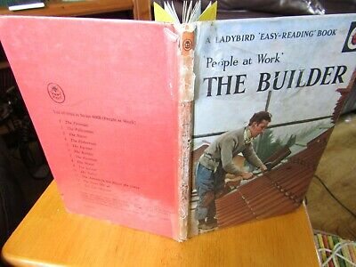 Vintage Ladybird Books People At Work 'The Builder' Series 606B • 1.49£