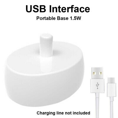 AU14.59 • Buy Portable Toothbrush USB Charger For Oral -B PRO600 D12 D16 Electric Toothbrush