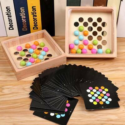 AU22.16 • Buy Fun For Kids Focus Training Bead Game For Children Puzzles Toys Board Game YI