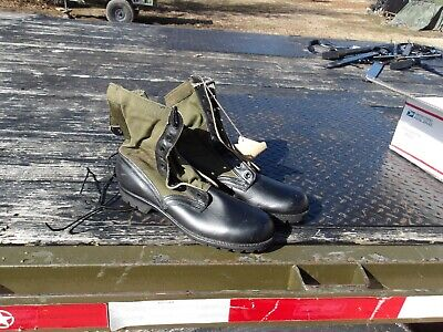 $45 • Buy Size 11 Xn Extra Narrow Green Jungle Boots  Military  Surplus Spike Protected