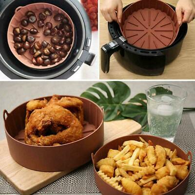 AU17.24 • Buy Air Fryer Silicone Pot Multifunctional Air Fryers Oven Accessories Tools L7H0