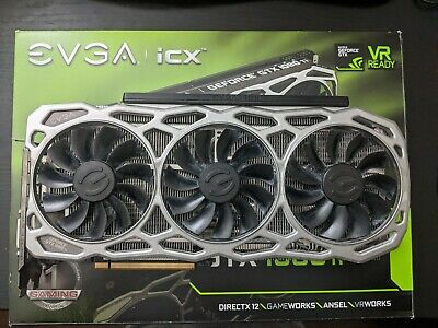 $ CDN660 • Buy EVGA GeForce GTX 1080 Ti FTW3 GAMING 11GB Graphics Card