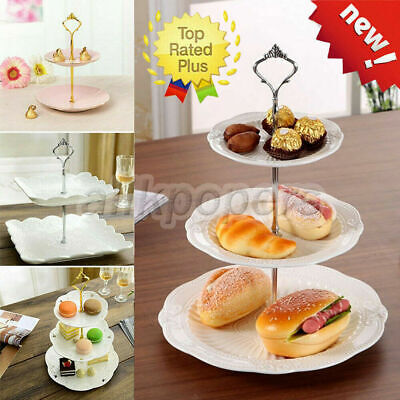 £2.38 • Buy 2/3Tier Cake Plate Stand Cupcake Fittings Wedding Party Parts Accessory Kit Use