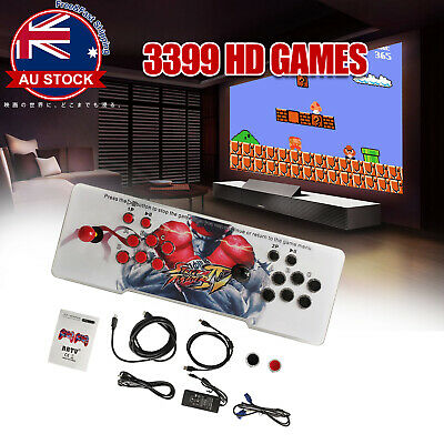 AU146.99 • Buy Pandora's Box 11S 3399 Games In 1 Arcade Console 2D & 3D Retro Video Game L