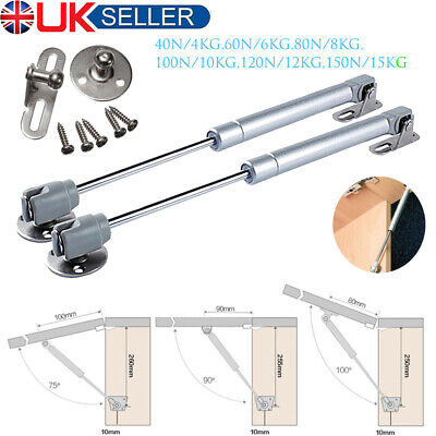 £5.99 • Buy Cabinet Door Lift Up Hydraulic Gas Spring Lid Flap Stay Hinge Strut Support Rod