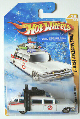2010  Hot Wheels  Ghostbusters  Ecto-1   Snowflake  Card • 19.99£