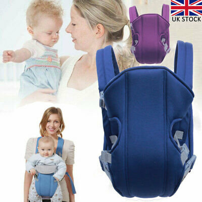 Adjustable Infant Baby Carrier Wrap Sling Hip Seat Newborn Backpack Breathable • 10.52£