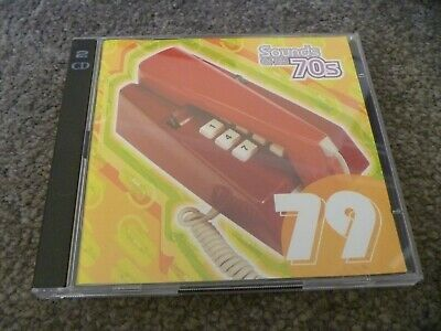 Time Life - Sounds Of The 70's - 2 X CD- 1979  -Chic/ Squeeze / Toto / The Knack • 2.99£