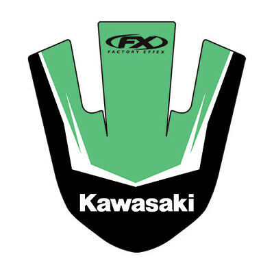 $17.96 • Buy Factory Effex Front Fender Graphic For Kawasaki KX 80 85 100 90-13
