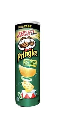 Pringles Cheese And Onion | Pringles Crisps | SPECIAL PRICE £1.90 200g X 5 • 9.50£