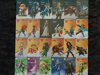 AU5.95 • Buy Legend Of Zelda Breath Of The Wild Nfc Amiibo Cards 24 Available 5th Card FREE