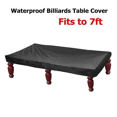 AU25.69 • Buy 7ft Billiard Pool Table Cover Snooker Polyester Dust Waterproof Protective Cap