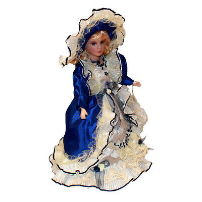 $ CDN50.49 • Buy Victorian Porcelain Dolls Girl With Dress And Hat Gift For