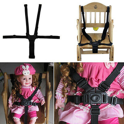 AU11.19 • Buy 5 Point Baby Safe Belt For Stroller Chair Pram Buggy Baby Seat Strap Harness AU