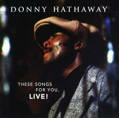 Donny Hathaway: These Songs For You, Live (cd.) • 15.29£