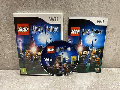 LEGO Harry Potter Years 1-4, Nintendo Wii - Comes With Instruction Booklet • 9.49£