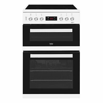 £349 • Buy Beko KDC653W 600mm Electric Double Oven - White