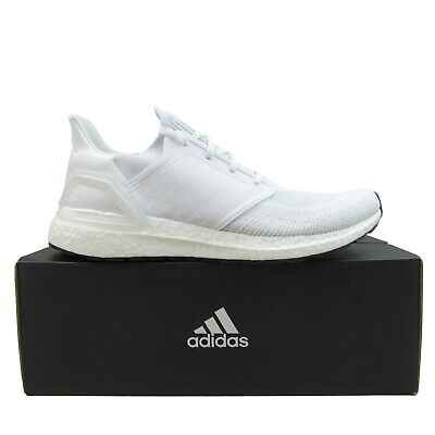 AU164.05 • Buy Adidas Ultraboost 20 Mens Running Shoes Size 12 Cloud White NEW EF1042
