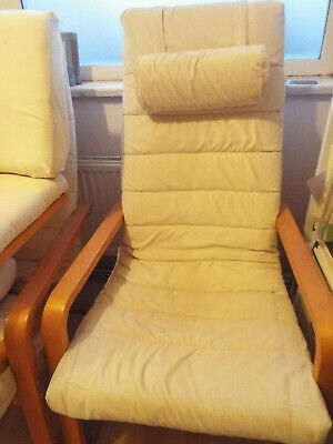 Ikea Boliden Chair And Stool Cream Colour • 15£