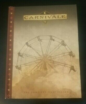 CARNIVALE THE COMPLETE FIRST SEASON (SEASON 1) DVD HBO 2004 Excellent • 2.86£