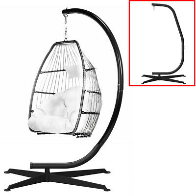 Heavy Steel Hammock Swing Chair Stand Extra High Solid Egg Hanging Chair Stand • 71£