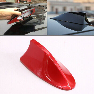 £8.44 • Buy Universal Red Car Shark Fin Aerial Antenna Roof AM/FM Radio Signal For Audi A3