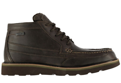 ROCKPORT Moc Boots Mens Brown Size UK 7 US 7.5 *REFMRS22 • 42.99£