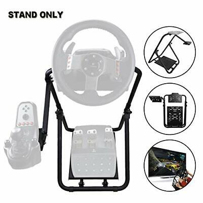 Foldable Racing Simulator Steering Wheel Stand - Gaming Wheel Stand • 106.99£